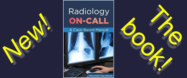 On Call Radiology - Common emergency radiology findings on call. A copmprehensive review for Radiology residents, technologists or medical students
